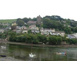 Noss Mayo with St Peters Church