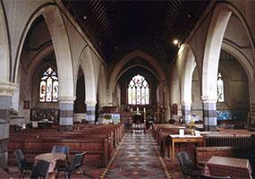 St Bartholomew Victorian nave