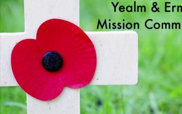 We will remember -  The 6 war memorials of our mission community